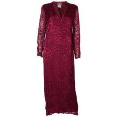 A Vintage devore Kaftan / Dress by Sara Sturgeon.
