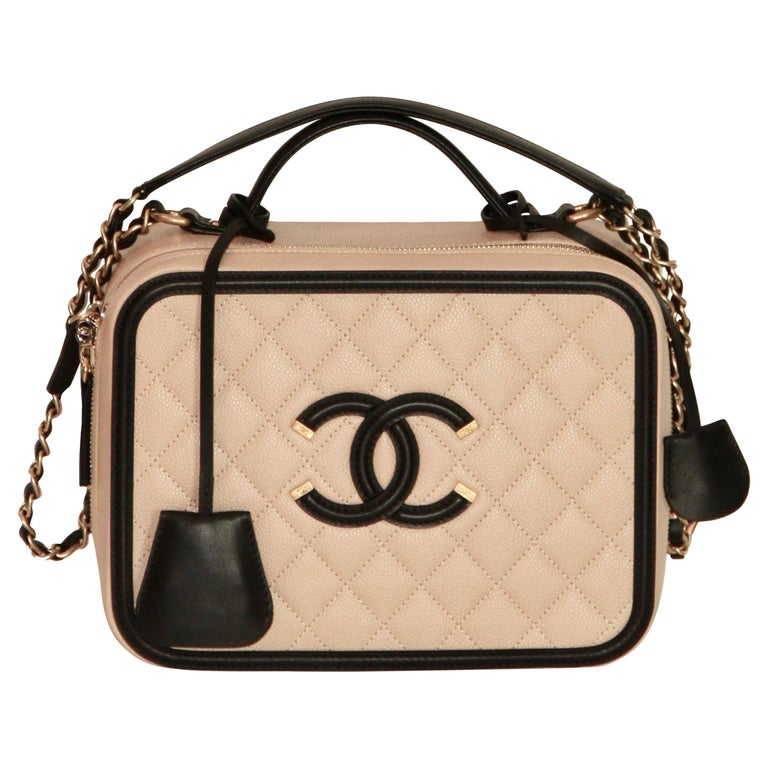 960e5a4882a4f0 Chanel Bag in Soft Ivory Lamb Leather with Big 2.55 Clasp For Sale ...
