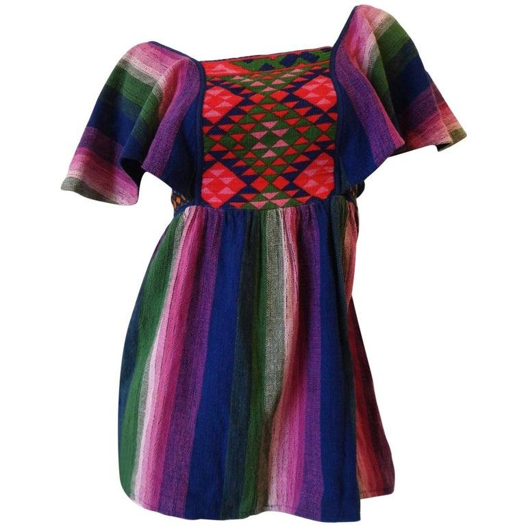 1970's Rikma Butterfly Sleeve Blouse