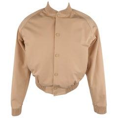 Calvin Klein Collection Menswear Bomber Baseball Jacket, Spring 2015 Runway