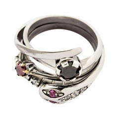 Puro Iosselliani Engagement Cocktail Ring