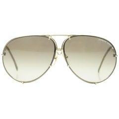 Porsche Design Aviator Style Vintage Sunglasses