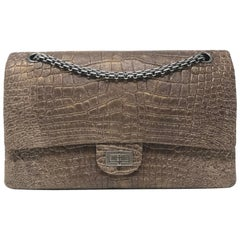 Chanel Alligator Reissue 2.55 Classic Double Flap Bag