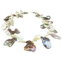 Keshi Pearl Choker Necklace