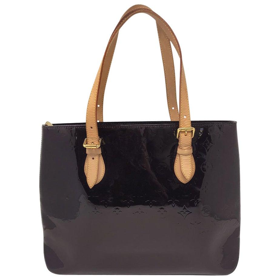 Louis Vuitton Brentwood Amarante Vernis Tote Bag