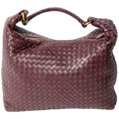 Bottega Veneta Intrecciato Shoulder Bag with Dust Bag
