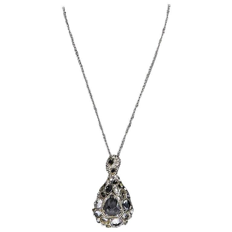 Silver alexis bittar crystal teardrop pendant necklace for sale at silver alexis bittar crystal teardrop pendant necklace for sale mozeypictures Choice Image