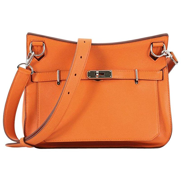 Hermes Jypsiere Handbag Swift 28