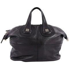 Givenchy Nightingale Satchel Glazed Leather Medium