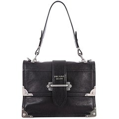 Prada Cahier Convertible Shoulder Bag City Calf Medium