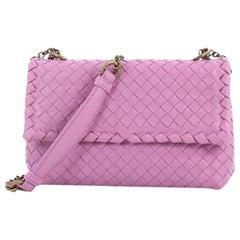 Bottega Veneta Olimpia Crossbody Bag Intrecciato Nappa Baby