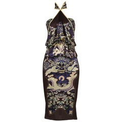Tom Ford for Yves Saint Laurent Yellow and Purple Dragon Ensemble, 2004