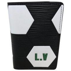 Louis Vuitton Black Pocket Organizer FIFA World Cup Collection