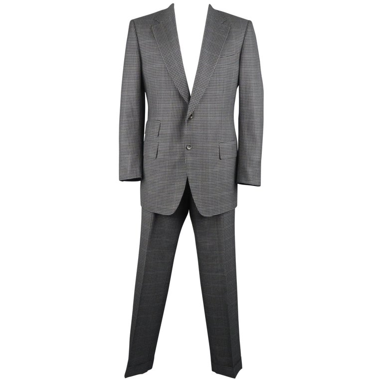 Tom Ford Suit - Two Button, Single Breaded