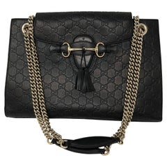 Gucci Guccissima Large Emily Chain Shoulder Bag