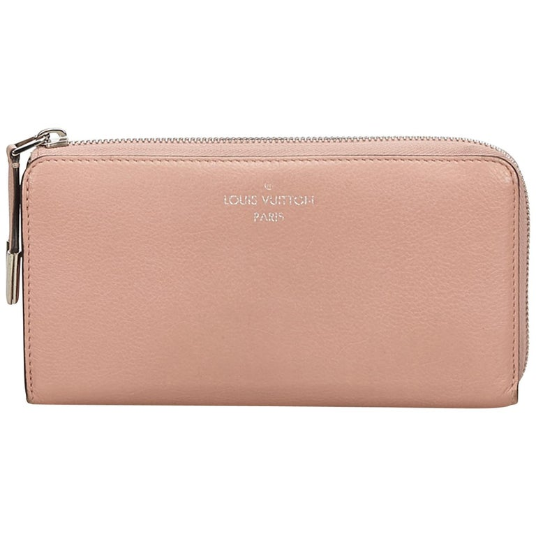 56d2bd1dc916 Louis Vuitton Pink Comete Wallet at 1stdibs