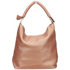 Fendi Pink Leather Shoulder Bag