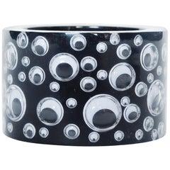 Google Eye Lucite Plastic Bracelet from Iris Apfel