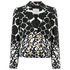 Gucci Animal Printed Blazer