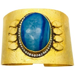 Meghna Jewels One of a Kind Druzy Cuff