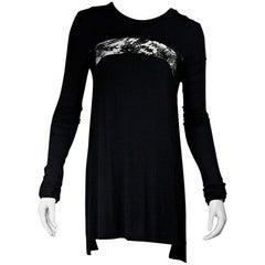 Black Givenchy Long-Sleeve Jersey Dress