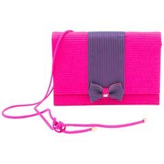 Nina Ricci Pink Evening Bag