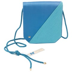 Nina Ricci Turquoise Silk Evening Bag