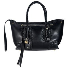 Black Alexander McQueen Leather Satchel
