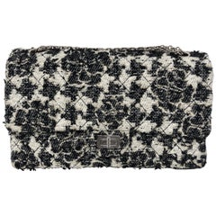Chanel Tweed Reissue 226 Double Flap Bag