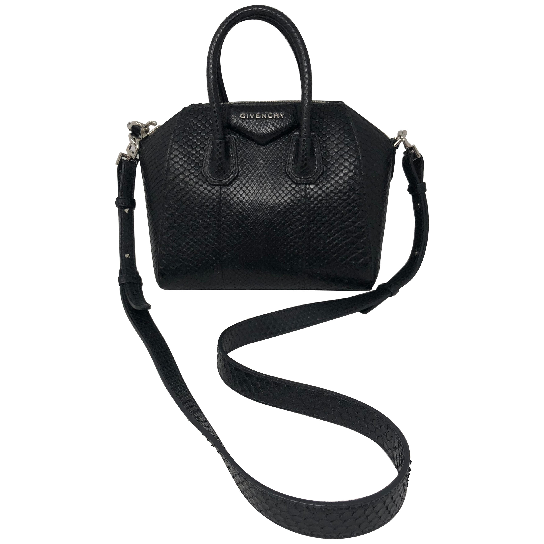 Givenchy Mini Antigona Python Crossbody Bag at 1stdibs d6db6e08d94c5