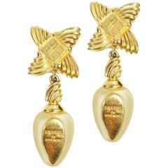 1980s Amarige de Givenchy Earrings