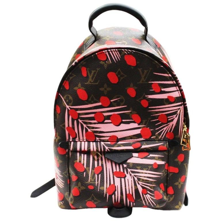 Louis Vuitton Jungle Dots Palm Springs Backpack PM Bag