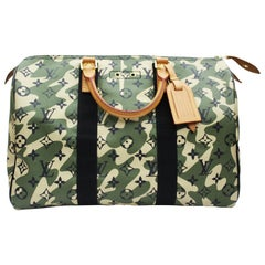 Louis Vuitton Limited Edition Monogramouflage Canvas Speedy 35 Bag