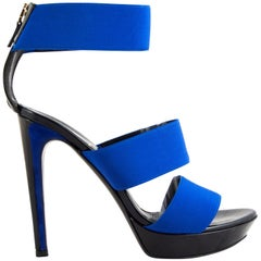 Fendi Electric blue sandals