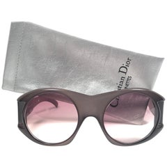 Christian Dior Vintage Monsieur C61 Oversized Sunglasses, 1970