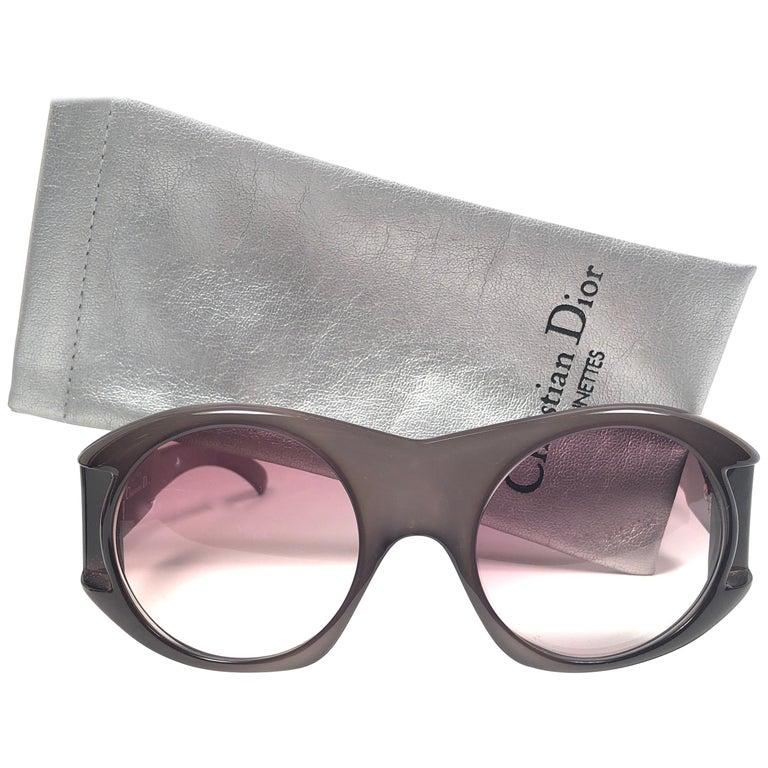 Christian Dior Vintage Monsieur C61 Oversized Sunglasses, 1970  For Sale