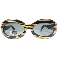 Suntimer Victory S583 Skimo Style France Vintage Sunglasses, 1960