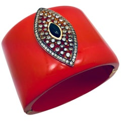 Meghna Jewels Resin Evil Eye Cuff
