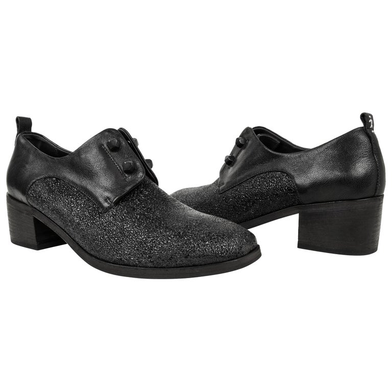 Henry Beguelin Shoe Loafer High Cut Textured Leather 39 / 9 New For Sale