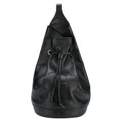 Hermes Perforated H 'Sac De Voyage' Vintage Satchel Bag
