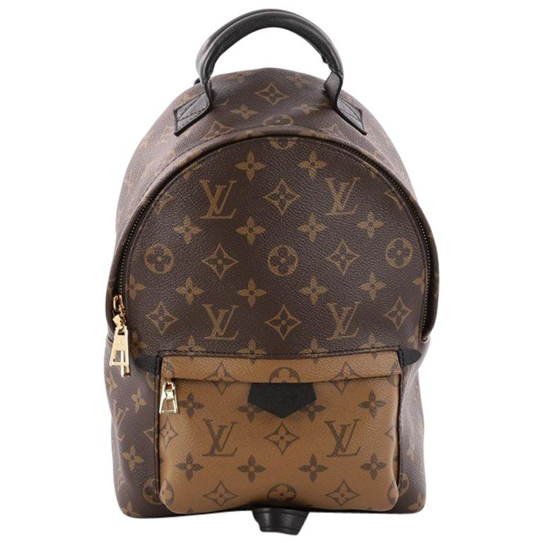 aabf26dd39 Louis Vuitton Palm Springs Backpack Reverse Monogram Canvas PM