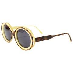 Morgenthal Frederics 25th Anniversary Ivory, Tortoise & Buffalo Horn Sunglasses