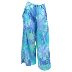 Pucci Psychedelic Print Wrap Cover Up Lounge Pants