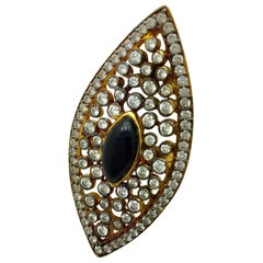 Meghna Jewels Statement Evil Eye Ring