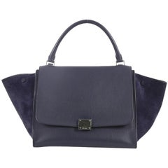 Celine Trapeze Handbag Leather Medium