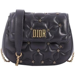 Christian DiorDio(r)evolution Round Clutch with Chain Studded Leather Small