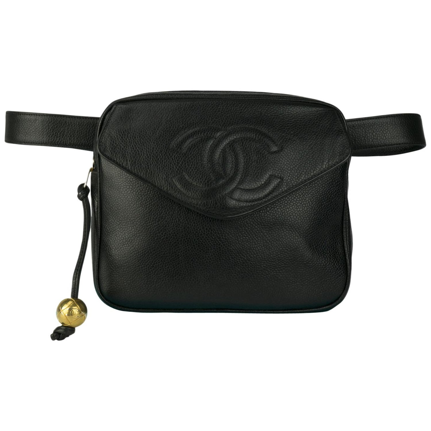 1cadc724a7477 Chanel Large Caviar Envelope Fanny Pack at 1stdibs