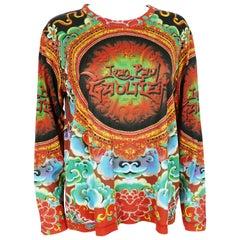 Jean Paul Gaultier Maille Vintage Asiatic Print Unisex Shirt