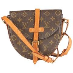 Louis Vuitton Vintage Monogram Canvas Chantilly Messenger Bag