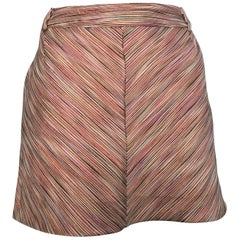Missoni Mini Skirt with Pockets Size 6.